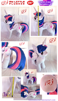 My Little Plushie: Twilight Sparkle by BlackWater627