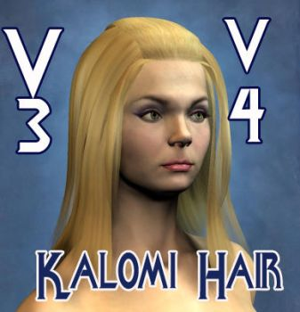 Kalomi Hair for V3 V4 by mylochka