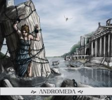 the sacrifice of Andromeda by DrawingNightmare