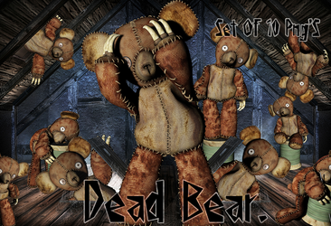 Dead Bear by Shades-Of-Rage