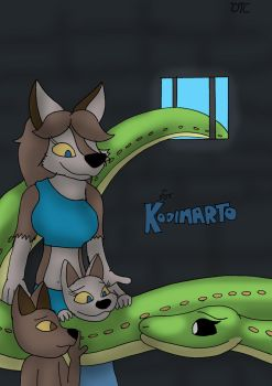 Kilala and the Cubs by Dan-the-Countdowner