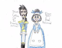 Captain Johnny And Nursemaid Elenor by sydneypie