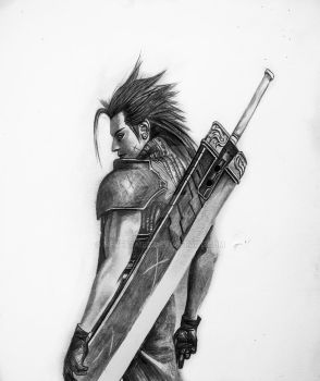 Final Fantasy VII by Neveramez