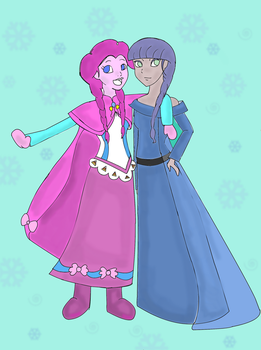 Pinkie And Maud (Frozen) by futuremoon