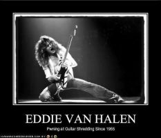 edward van halen by SailorTaksu