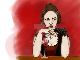 Fancy a drink? - Friday 13th by Deena-x