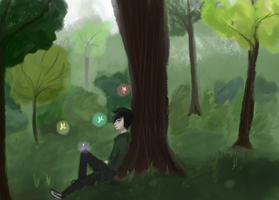 Forest by InotNedloh