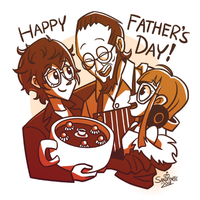 Happy Father's Day 2018 by Sandforte