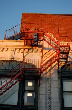 ::Fire Escape by Chrizell