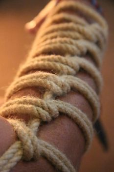 Arm Rope Bondage by Ange1ica