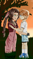 Request 6: Aerith and li by Randomgirl2001