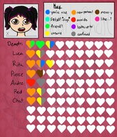 Tailee's Heart Chart by Fyreglyphs