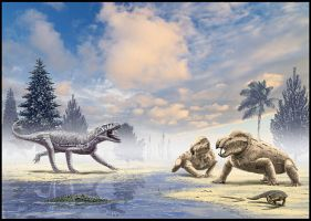 Triassic fauna from Marocco by dustdevil
