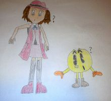 Pac-Man and Serena Boot Swap by SuperSmash6453