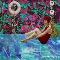 Summer Day Collage by AeliaNaqwiDesigns