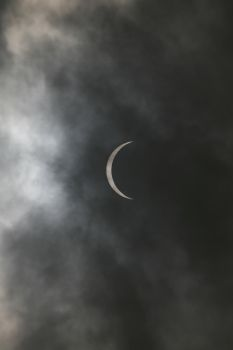 Cloudy Eclipse #3 by WideFoot