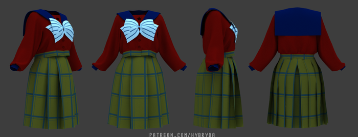Sailor Moon - Mugen Uniform by Hybryda