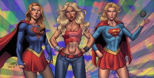 Supergirls colors by LucasAckerman