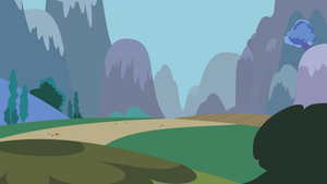 The Path (outside Ponyville) by Hourglass-Vectors