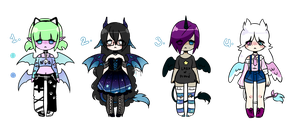 Cute Adopts Closed by MaiaSadoptsNstuff
