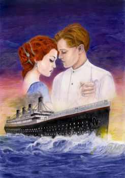 Titanic Rose and Jack by Das-Pfanntom