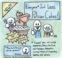 Pelican Cakes by AK-Is-Harmless