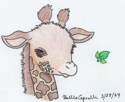 Giraffe by HollieBollie