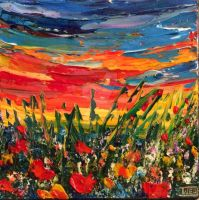 Poppies 2 by ARTBYTERESA