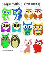 Different Owl Designs by Enseethis