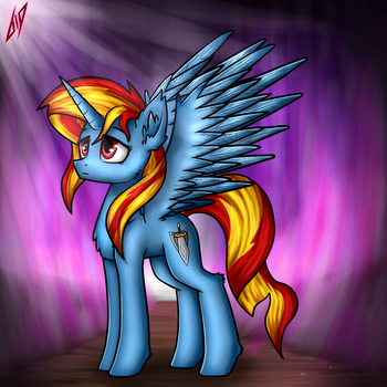 Unnamed OC [request] by 6EditoR9