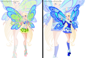 [WC] COM: Seraphina Believix Evolution by AshianaAquaris