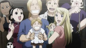 Full Metal Alchemist Brotherhood end by Guadisaves02