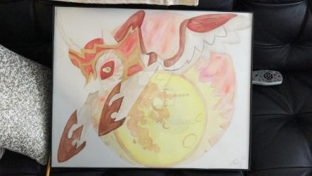 Black Hole Daybreaker (Watercolor) by TexacoPokerKitty