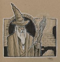 Gandalf the Grey by SuperEdco