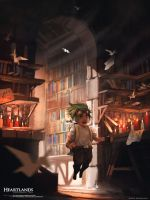 The Paper Room by whatzitoya
