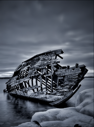Dawn and a Derelict 2 by wb-skinner