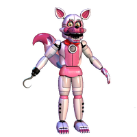 Funtime Toy Foxy by TheRealBoredDrawer