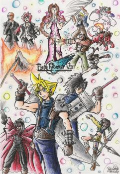 Final Fantasy VII by GraphiteFalcon