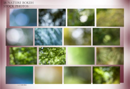 18 Nature Bokeh Stock Photos by AkuZeku