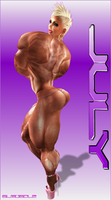 GLAM MUSCLE 1: JULY by SLMUSCLE