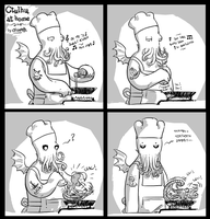 Cooking with Cthulhu :) by Heri-Shinato