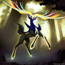 The Geomancer - Xerneas by Galahawk
