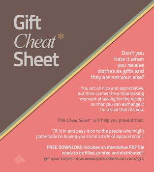 Gift Cheat Sheet by system-s