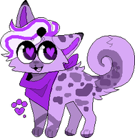 Cheap Cat adopt ~*VIolet Dreamsicle*~ -CLOSED- by SnakeLimes