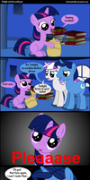 twilight and the cookie jar by Coltsteelstallion