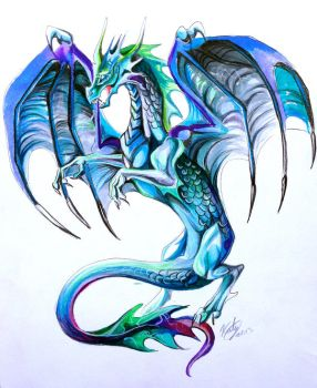 Dragon Tattoo (adoptable +Original) by Lucky978