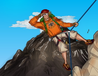 Mountain Climber by Sulemania
