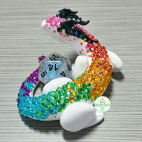 Rainbow Dragon Dice Holder by Bon-AppetEats