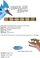 Regular Show Journal Skin v2.0 by yinlin1994