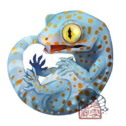Tokay Gecko by Silce-Wolf